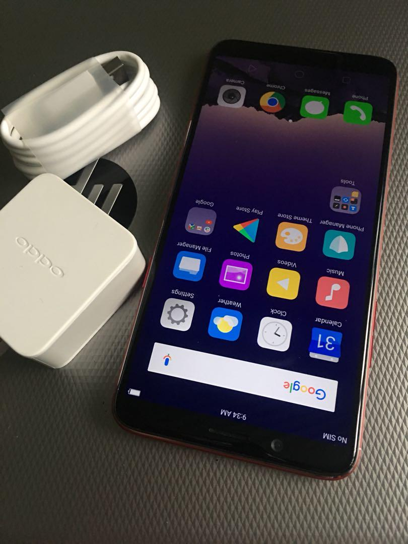 Oppo F5 32gb Red Smooth