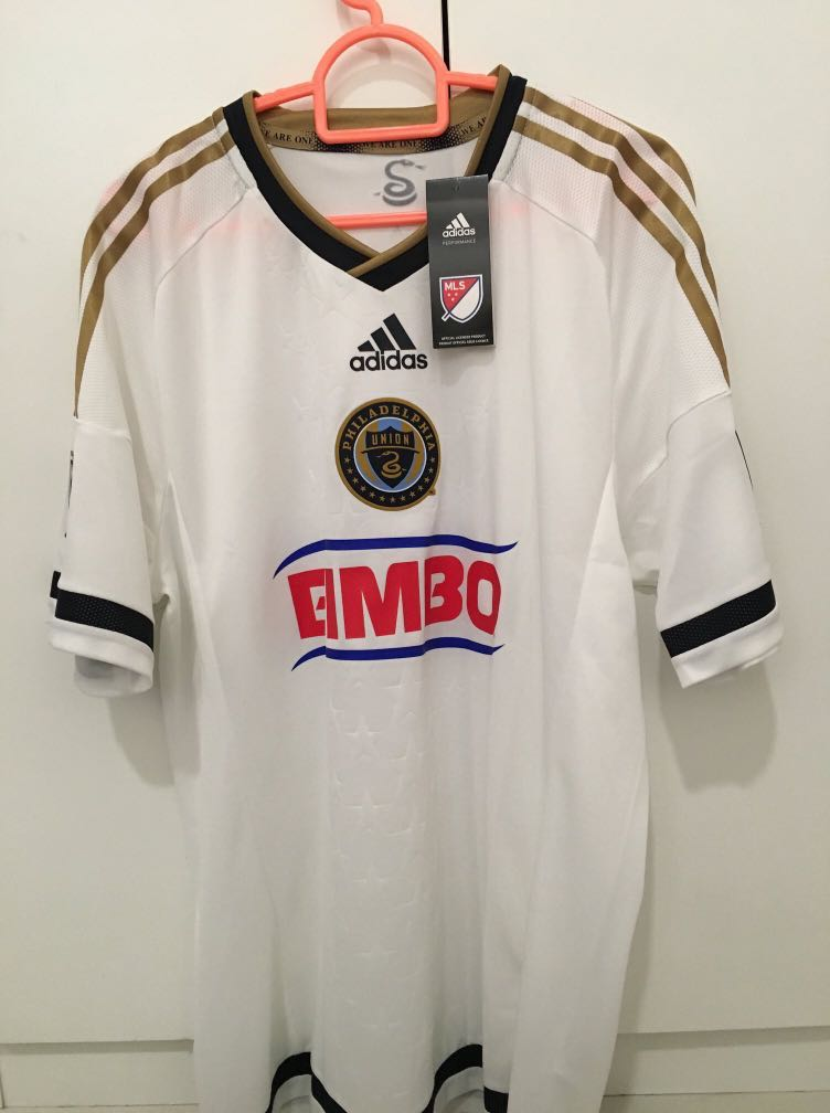 sale retailer 45277 54943 Philadelphia Union Adizero Player Issue 2015-16 Away Jersey