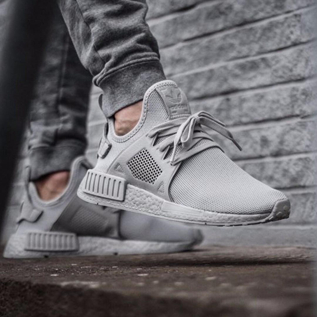 7e7d093a1 PO) Adidas Mens NMD XR1 Silver Grey