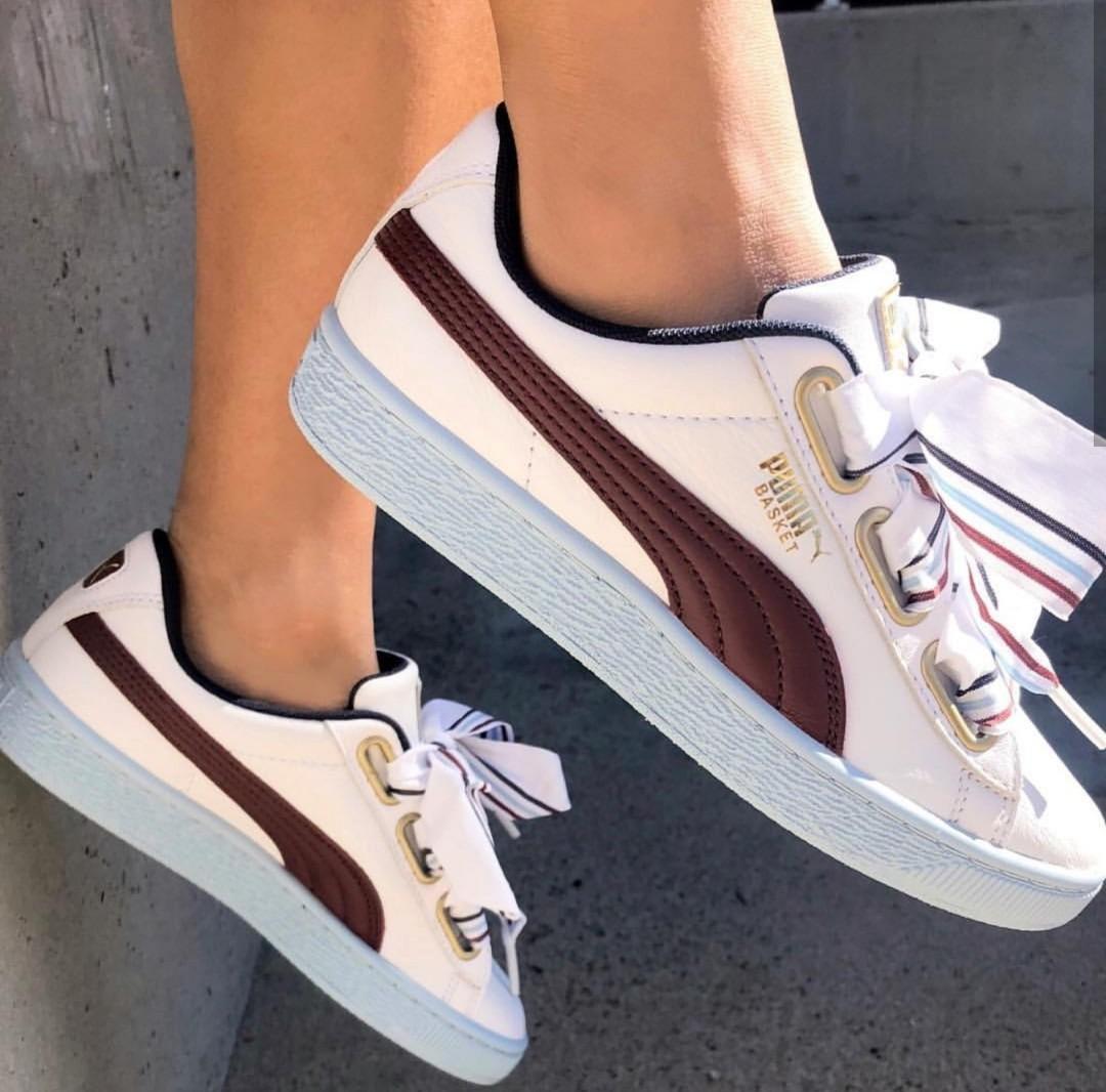1efd87c7099 PO  PUMA Basket Heart New School Sneakers
