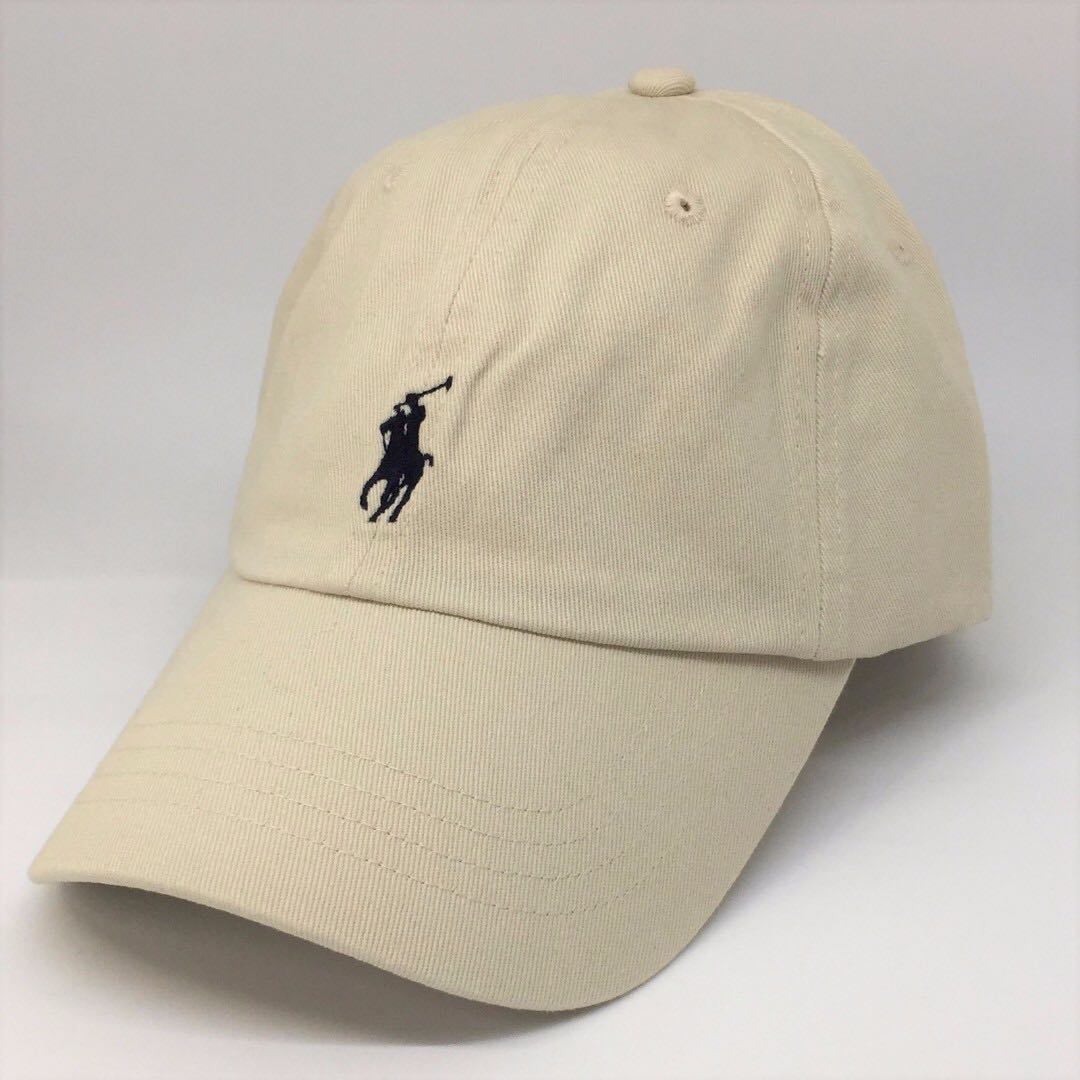 04d3143a4ad (Sold Out) Polo Ralph Lauren Baseball Cap Cream