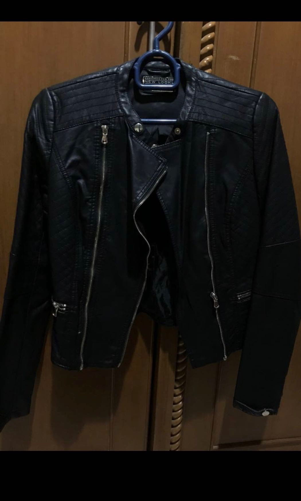 preloved new look leather jacket 4f5b40e2d0