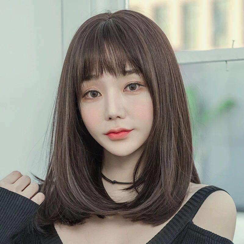 resultats google recherche d images correspondant a https media karousell com media photos products 2018 08 06 preorder korean style shoulderlength hair w おばさん