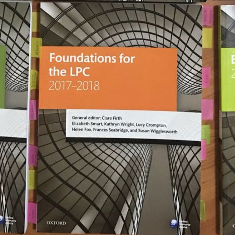 QLTS OSCE OUP Book - Foundations for the LPC