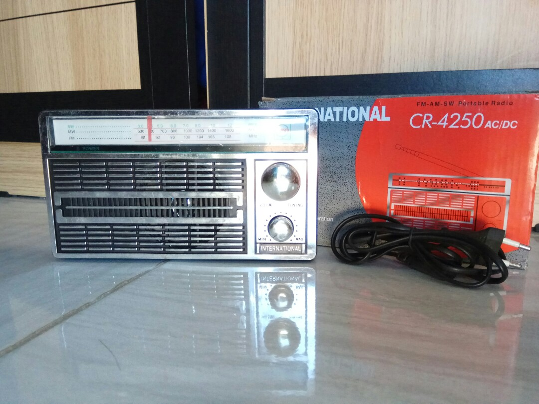 Radio Jadul International Electronics Audio On Carousell
