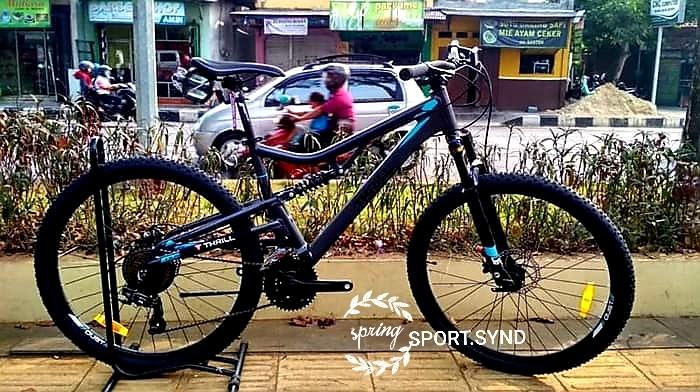 SEPEDA GUNUNG DOWNHILL CEWEK COWOK ROADBIKE MTB 275 THRILL OUST 20 Sports Bicycles On Carousell