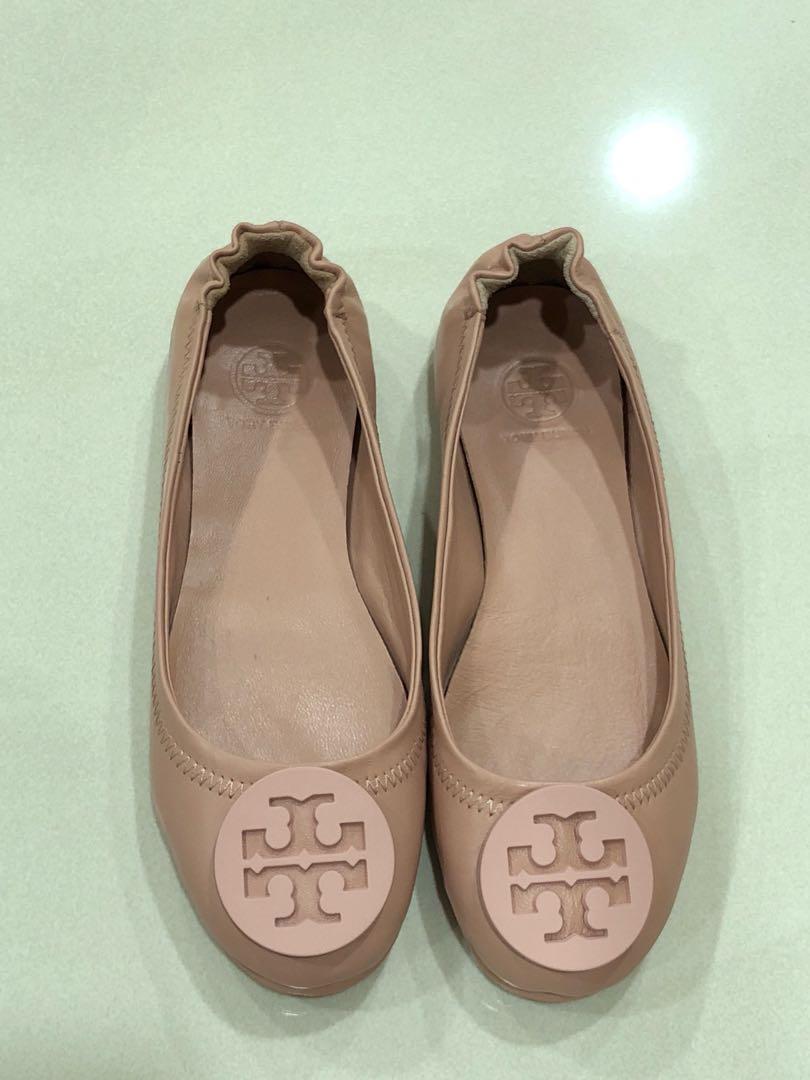 Tory Burch Inspired Foldable Flats Women S Fashion Shoes Flats