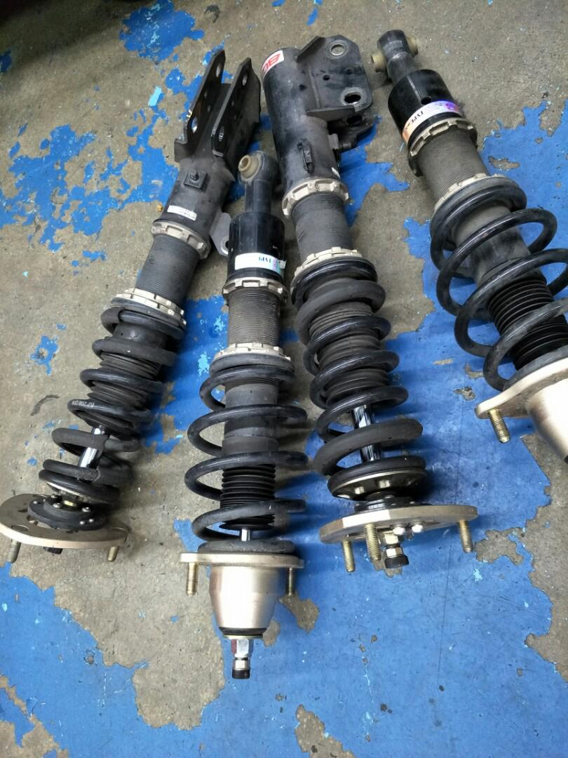 Used Mitsubishi Lancer Ex BC BR Racing Coilovers, Car