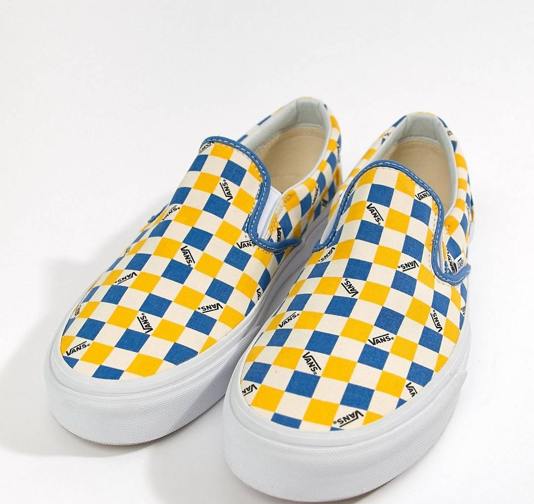 782e8e026a Vans Factory Pack Classic Authentic Trainers In Yellow