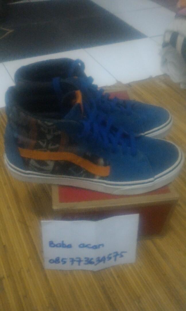 41940a352454ce Vans sk8 hi inca true blue size 8