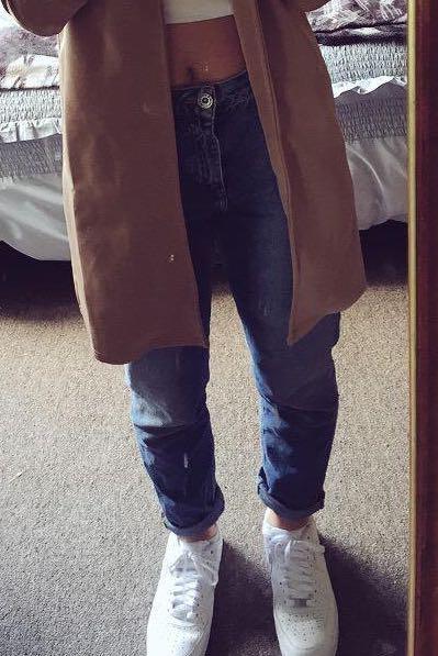 Vintage denim mom jeans