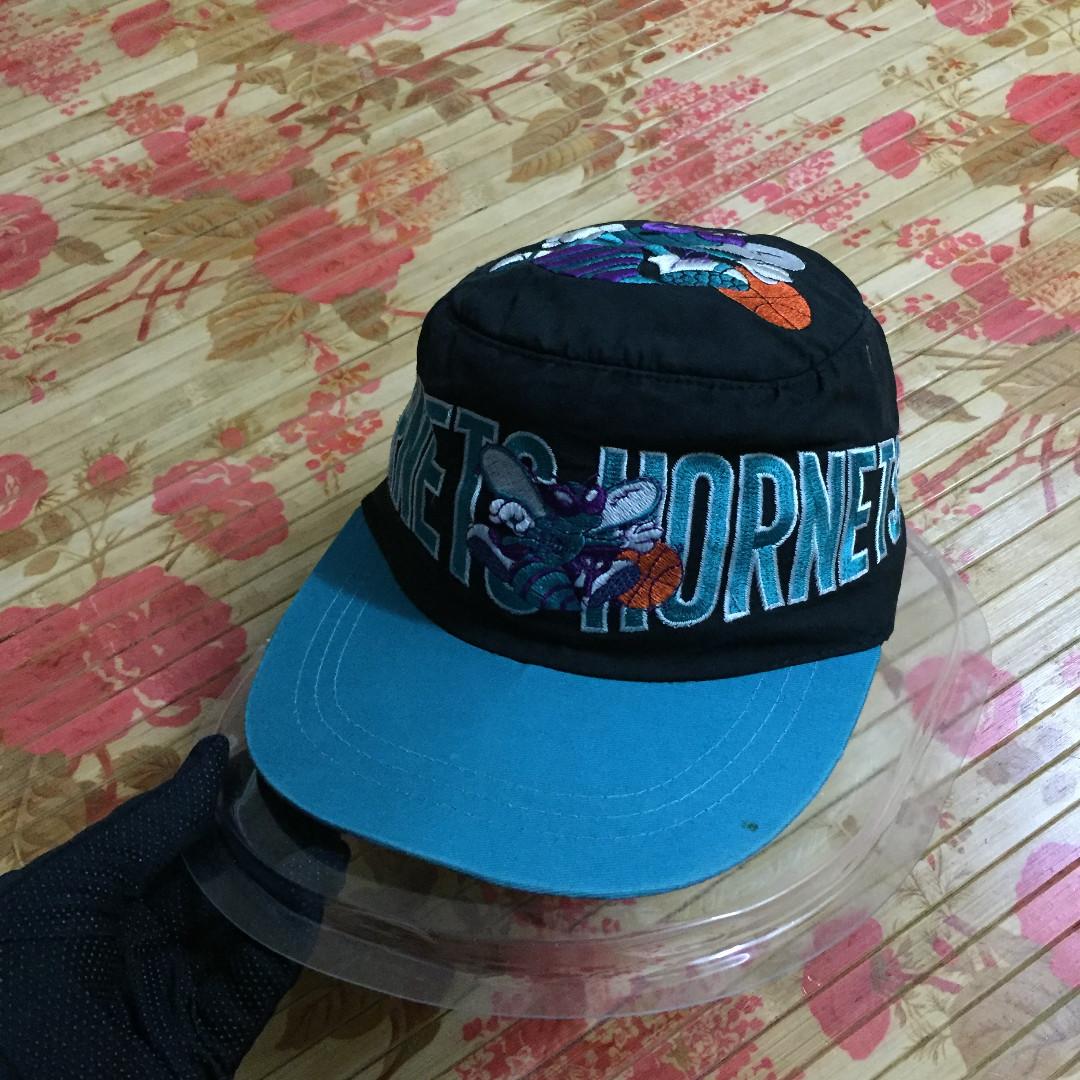 Vtg NBA Charlotte Hornets SnapBack c9000f9b9a