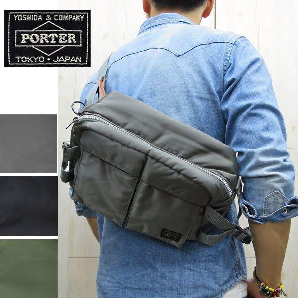 946f16a9e7 Yoshida Kaban PORTER (Porter tanker 2WAY waist bag shoulder bag)  622-08302-silver grey