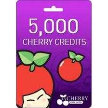 Cherry Credits 5,000