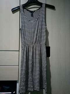 Midi dress Strip HnM