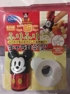 日本 米奇 香鬆罐 Micky 迪士尼 香料罐 調味罐