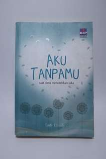 Novel Aku tanpamu karya rudy efendy