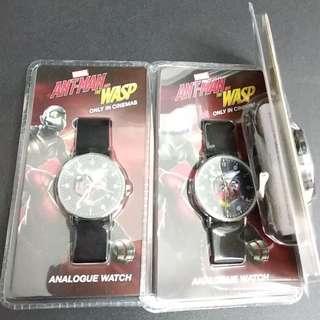 全新《蟻俠2: 黃蜂女現身》限量版電影手錶 $300