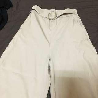 🚚 藕粉色寬褲