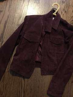 Forever21 XS velvet jacket