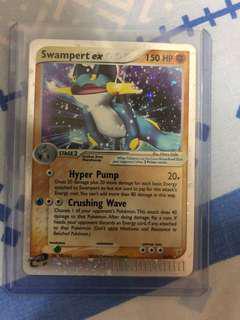 Swampert Ex 95/95 Pokemon Card - NM