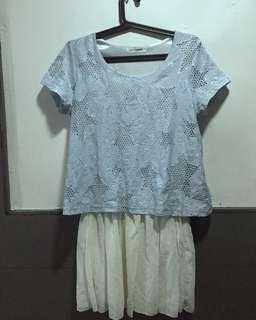 Korean-inspired Lace Top/Dress