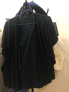 OUTER BATWING HITAM
