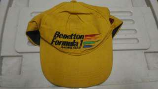 Topi cap Benetton formula one