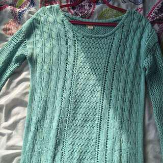 MOSSIMO Turquoise Sweater