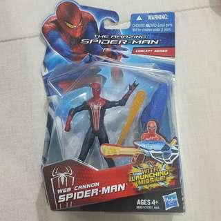 "Legit Brand New Sealed Hasbro Marvel The Amazing Spiderman Web Cannon 4"" Toy Figure"