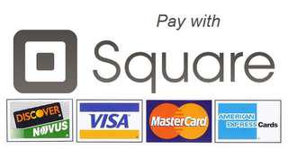 Now accepting credit card payment with square