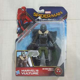 "Legit Brand New Sealed Hasbro Marvel Spiderman Homecoming Vulture 5.5"" Toy Figure"