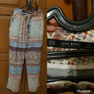 Zara basic pants mode maroco