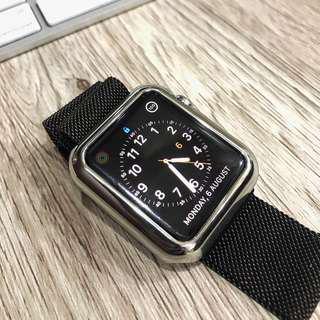 Apple watch 42mm Stainless Steel Banyak BONUS #maunintendo