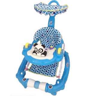 3 in 1 Pink Panda/Hello Kitty Baby Walker/Rocker/Stroller