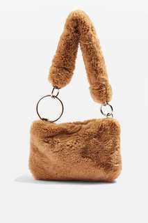 Topshop teddy bag