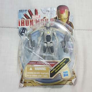 "Legit Brand New Sealed Marvel Ghost Armor Iron Man 3.5"" Toy Figure"