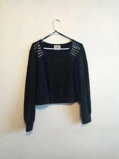 Studded Sweater