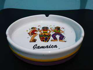 Novelty Item or Souvenir from Jamaica (Ashtray)