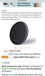 BN Phone Wireless Charging Pad