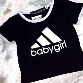 Babygirl ringer tee