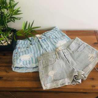 Denim shorts bundle A