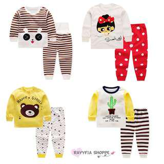 Baby Kids Boys Girls Nightware Pyjamas Set (6m - 4y)