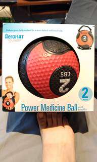 Power Medicine Ball 2lbs