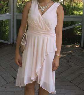 Blush Dress Size M