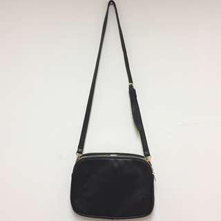 Forever 21 black leather crossbody