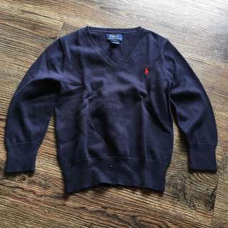 Polo Ralph Lauren Vneck Sweater for little boys