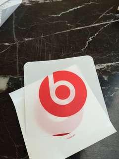 Authentic Beats sticker