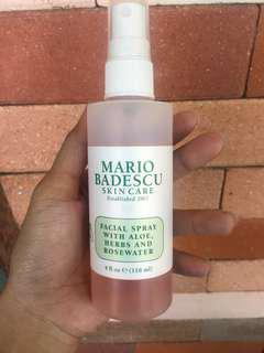 MARIO BADESCU FACIAL SPRAY with aloe,herbs and rosewater