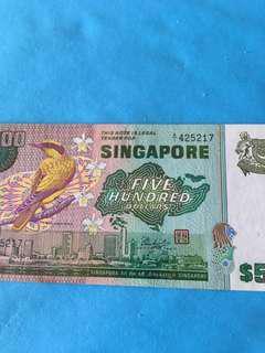 Bird $500